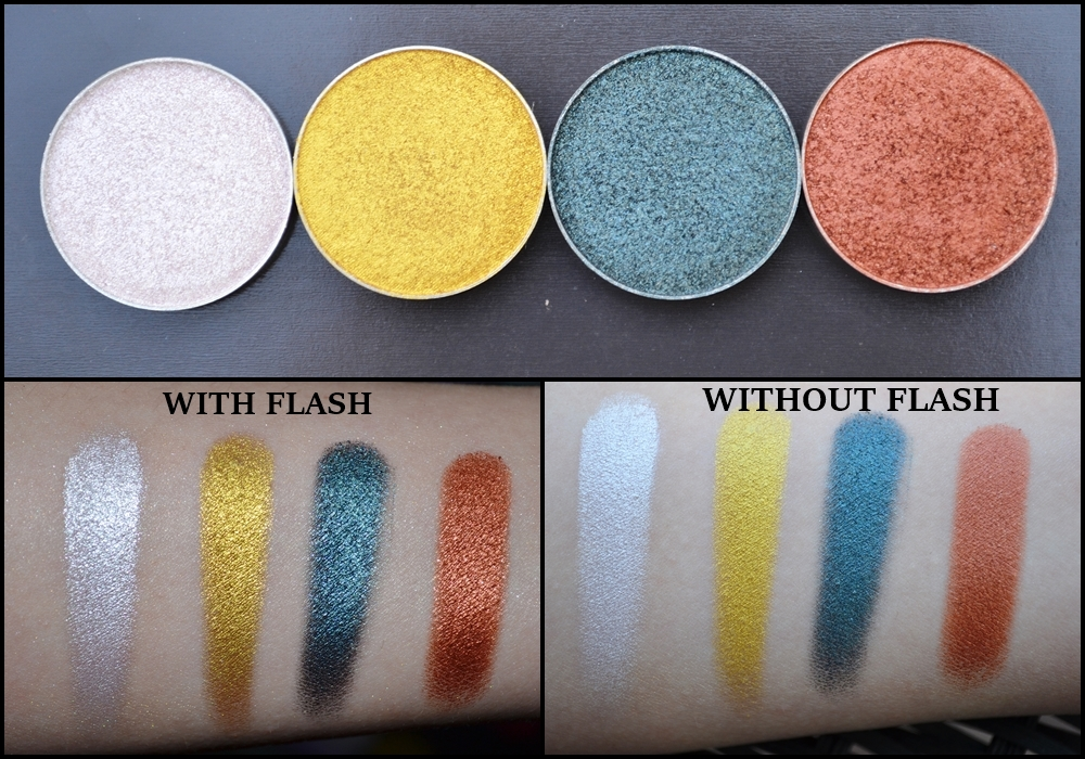 Populaire Makeup Geek Eyeshadow & Foiled Eyeshadow Review+Swatches | Beauty  MC52