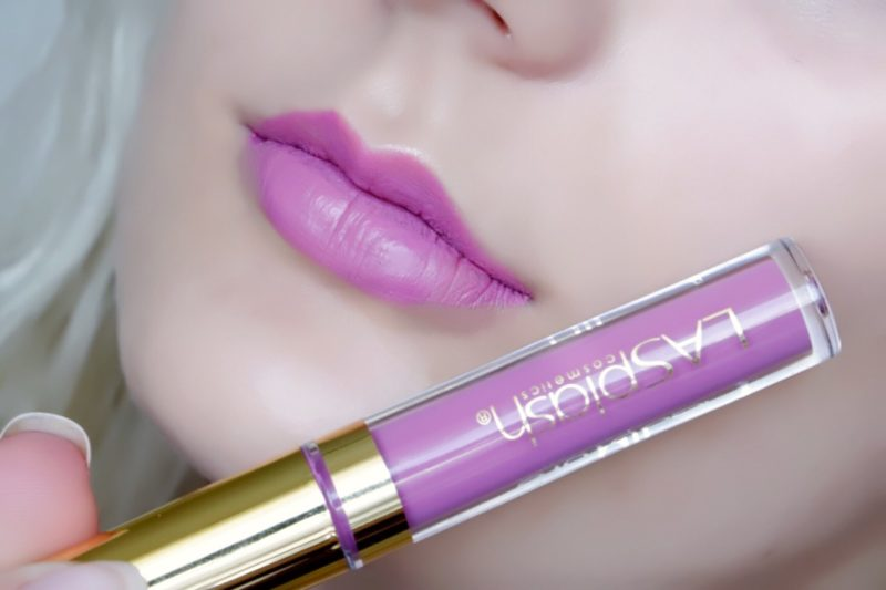 "LASPLASH Lip Couture Liquid Lipstick in ""Rose Garden"""