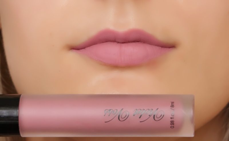 Violet Voss liquid lipstick in colour Tryst.
