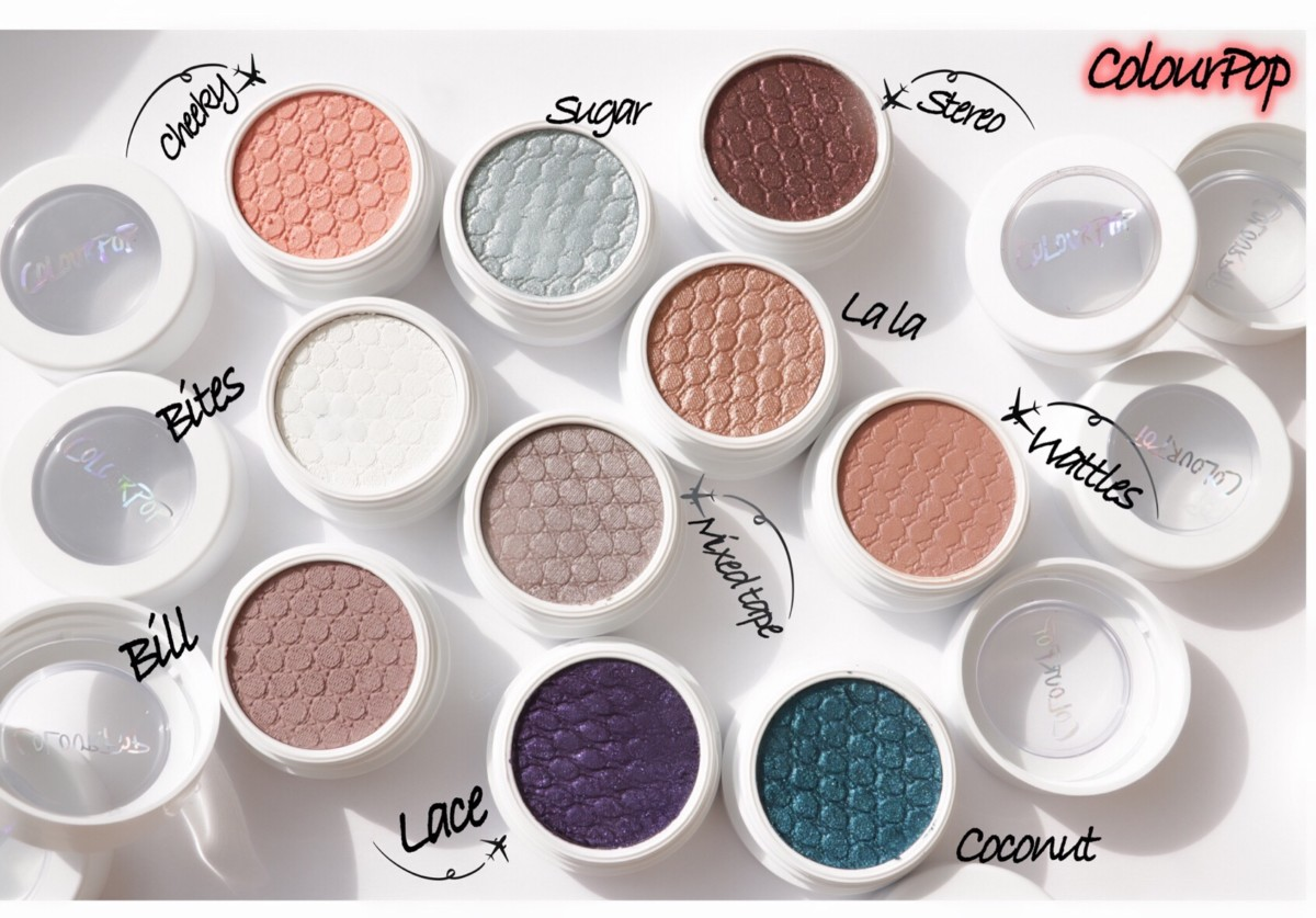 ColourPop Super Shock Eyeshadows Review & Swatches