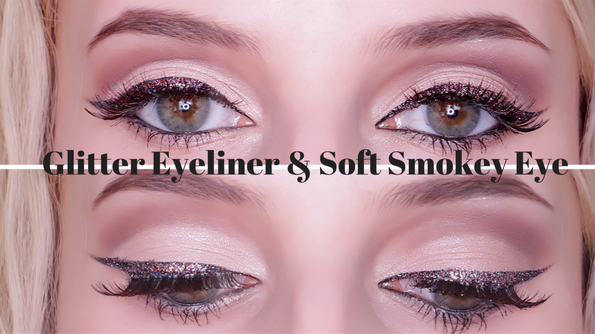 Glitter Eyeliner & Soft Smokey Eye Makeup Tutorial/ YOUTUBE