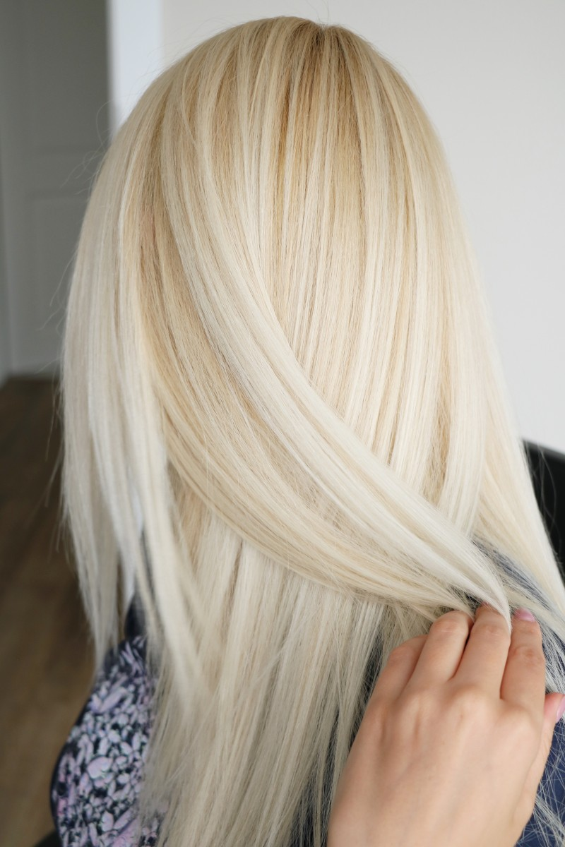 Great treatment really feels like it soaks into the hair and not just coating it