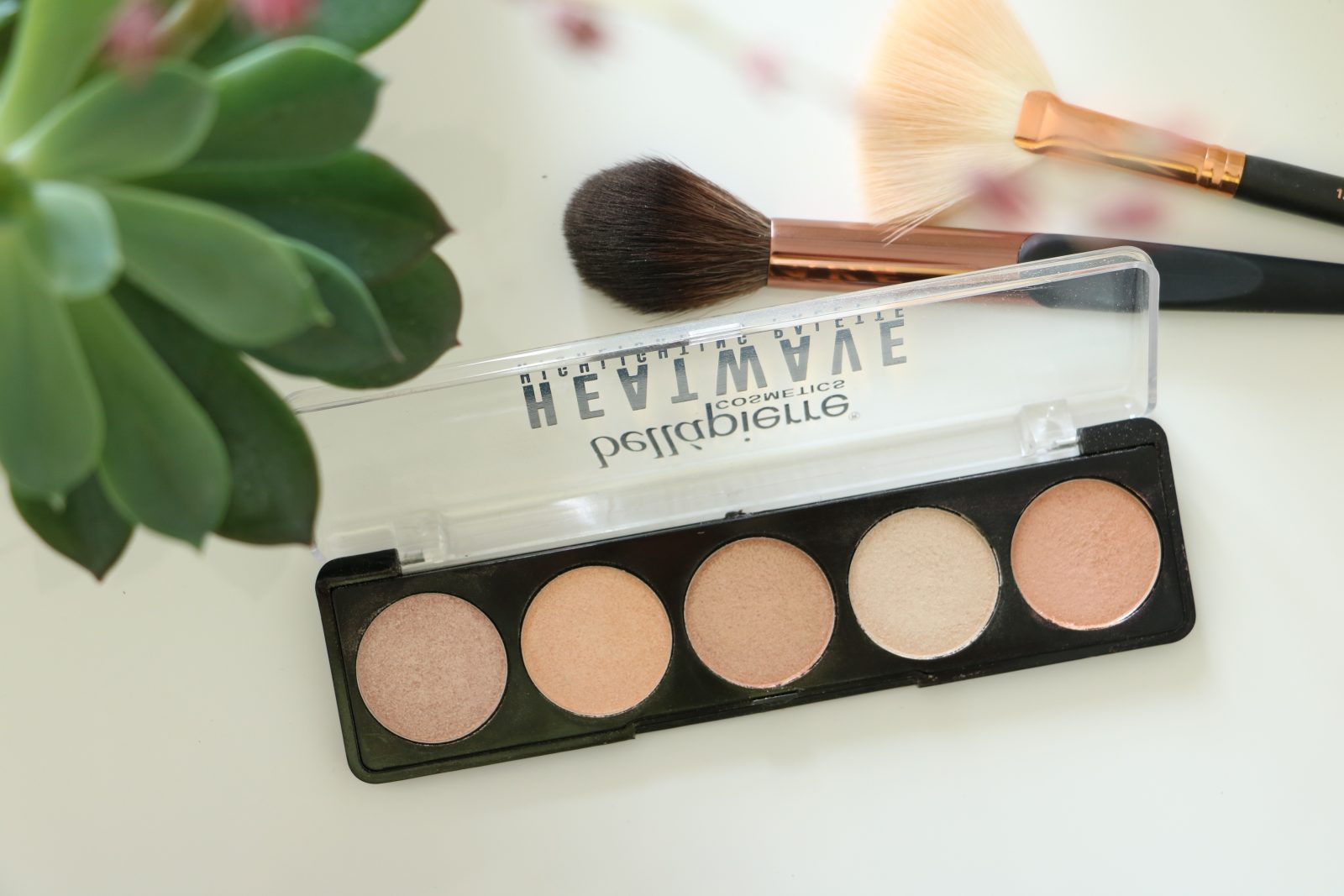 Bellapierre Heatwave Highlighting Palette Review